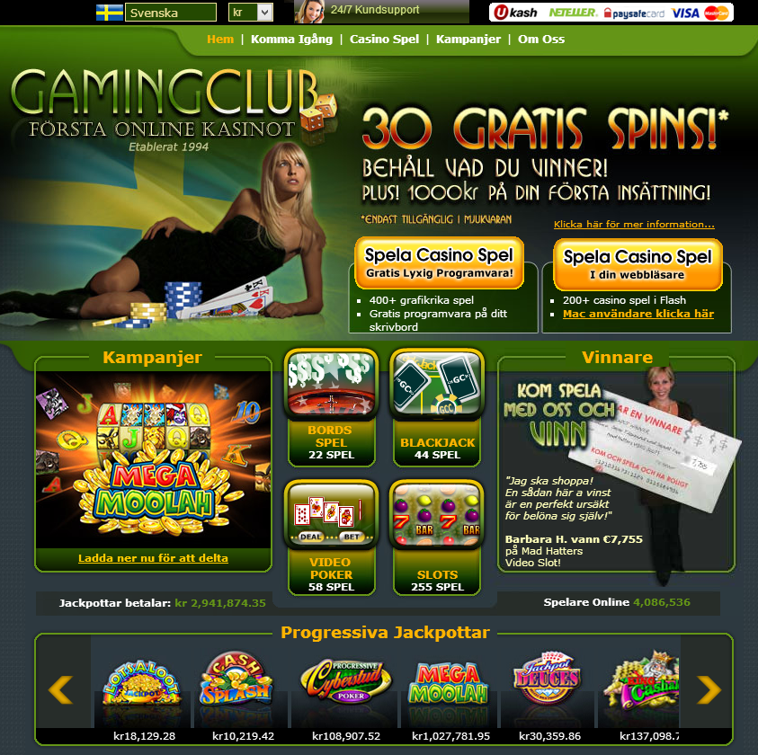 gaming club casino gratuit