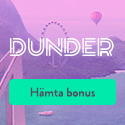 20 free spins hos Dunder