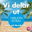 20 free spins hos VeraJohn Casino