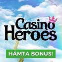 50kr gratis hos CasinoHeroes