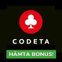 15 free spins hos Codeta