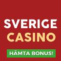 75 freespins hos SverigeCasino