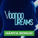 20 freespins hos VoodooDreams