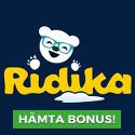 66 free spins hos Ridika